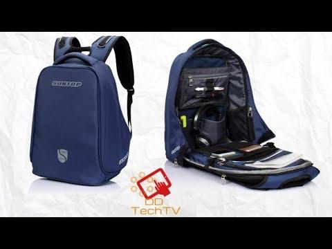 138e952f61 Suntop TechShield Anti-Theft USB Backpack - YouTube