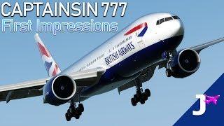 Captainsim Boeing 777 II P3Dv4 First Impressions