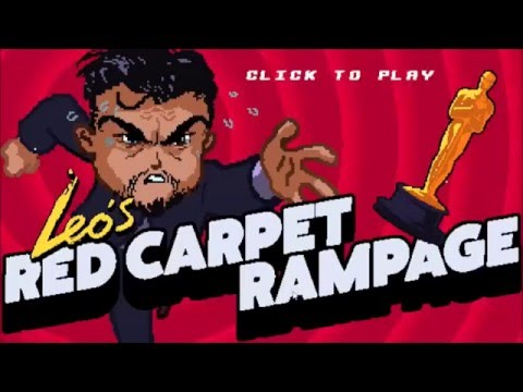 Leo's Red Carpet Rampage - Help DiCaprio Get That Illusive Oscar!