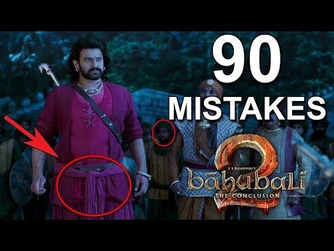 90 MISTAKES IN BAHUBAHLI 2 (w/Eng Subs) | BAHUABLI 2 MISTAKES