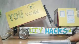 How to make a Hydraulic truck(Very powerful)!!!!!!