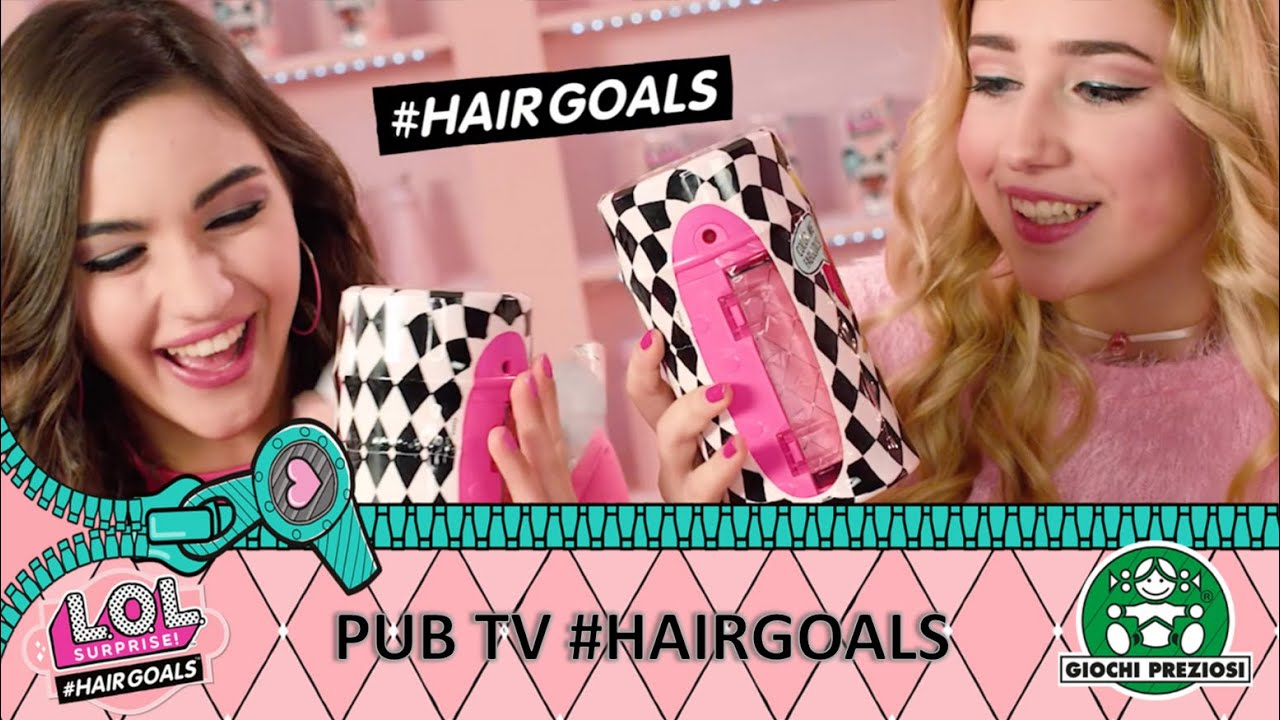 L.O.L Surprise / #Hairgoals / Pub TV / Giochi France