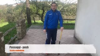 Tecnica di base: push. Con Gianluca Cirilli