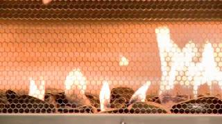 Hearth Cabinet Ventless Fireplace Demonstration