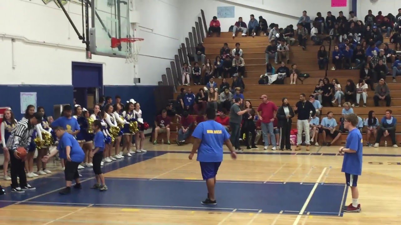 Special Olympics 2016 Mira Mesa High School Basketball