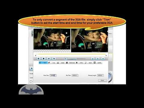 How to Convert 3GA to WAV, MP3, WMA  new new