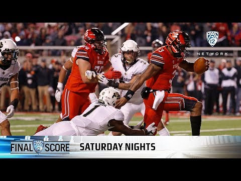 Highlights: Utah football uses big offensive night to dispatch Colorado, become bowl eligible