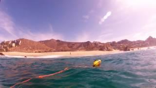 Подводная охота в Кабо Сан Лукас Мексика пляж Педрегал