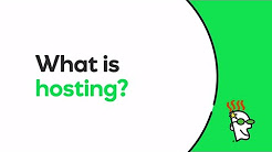 What Is Web Hosting? Explained Simply   GoDaddy
