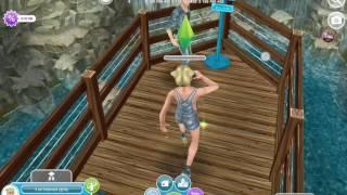 Сериал в игре Sims FreePlay 1 сезон 3 серия девчячая школа