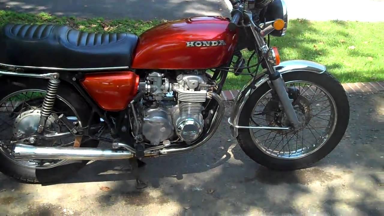 1978 honda cb550 youtube for Honda jardin 78