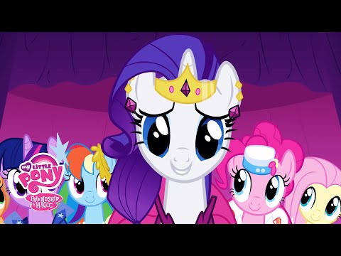 MLP: Friendship Is Magic Season 1 - 'Rarity's Revised Fashion Show' Official Clip