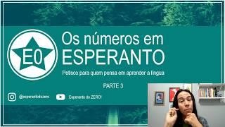 Petisco: Contando até 999.999! | Esperanto do ZERO!