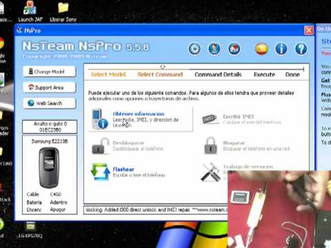 Liberar Samsung T139 T-mobile Nspro