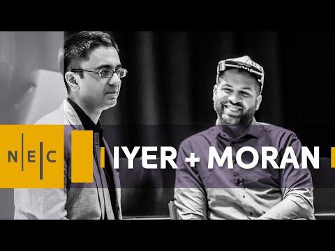 Jason Moran and Vijay Lyer masterclass at NEC