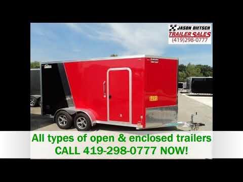 Dial (419)298.0777 Enclosed Cargo Trailers Edgerton OH