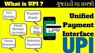 [Gujarati Video] What is UPI(Unified Payment Interface)   UPI App explained   Digital Payment System