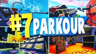 TOP 7 Mejores Mapas Creativos DE PARKOUR en Fortnite Fortnite Parkour Mapa CODES