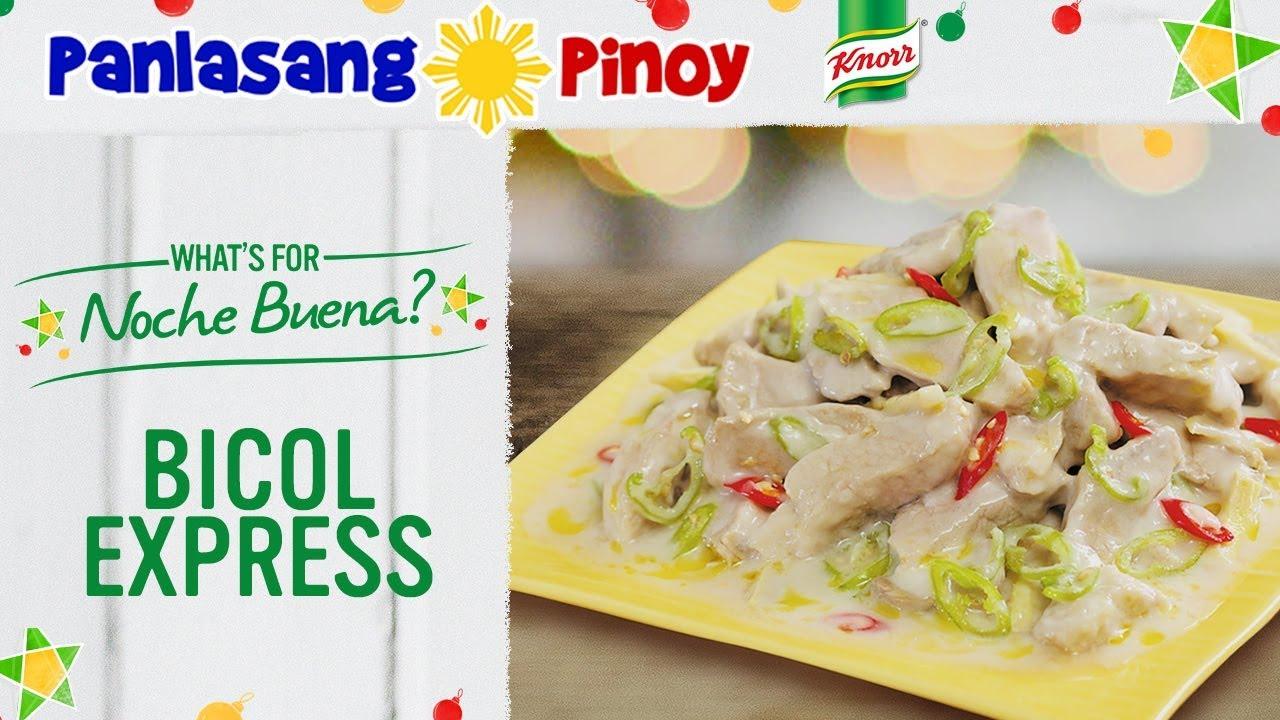 How to Cook Bicol Express - Panlasang Pinoy - YouTube