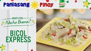 How to Cook Bicol Express - Panlasang Pinoy