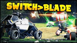 Switchblade - VEHICLE BASED FREE-TO-PLAY ACTION! - Switchblade Gameplay