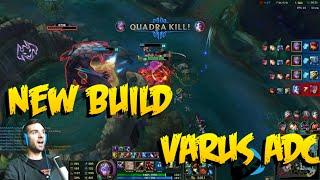RAGEBLADE VARUS IS OP! | Varus ADC edited gameplay | League of Legends