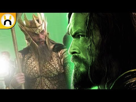 Who is the Ancient Atlantean King in Justice League?