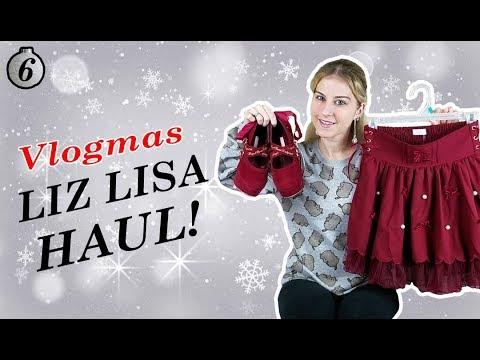 Liz Lisa HaulUnboxing My Christmas Outfit ❚ Vlogmas Day 6