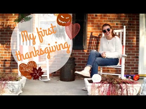 My life in the USA: first Thanksgiving holidays