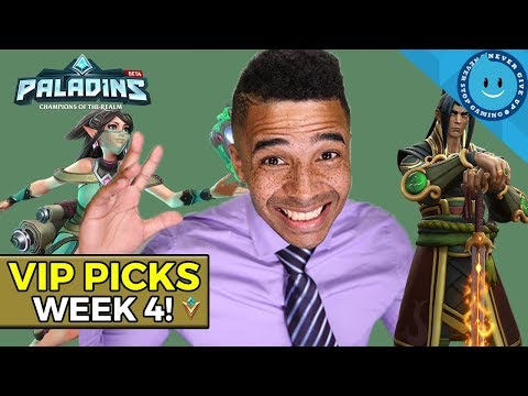 SPICY PICKS! Raynday's Paladins Premier League VIP Picks (Week 4!)