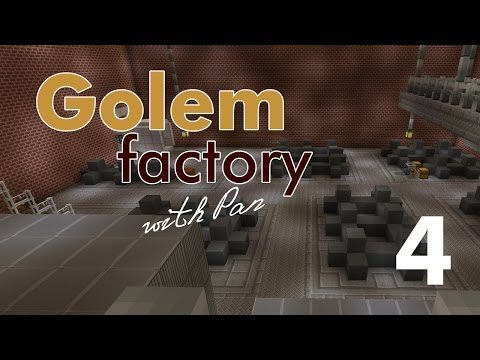 FTB Golem Factory with Pan #4 - Футбольное поле за 1500