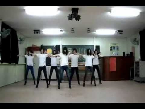 After School - Bang! dance steps by the B.girls