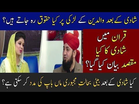 Girls Rights After Marriage On Parents ?  | Neo Pakistan | 17 November 2017 | Neo News