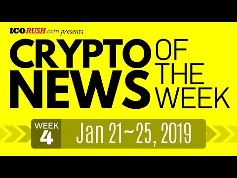 🤑 Kevin Connolly to Popularize Cryptocurrency Ecosystem❗ ICO News & Crypto News | Jan 21~25, 2019