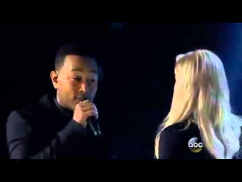 Meghan Trainor & John Legend - Like I'm Gonna Lose You | Builboard Music Awards 2015