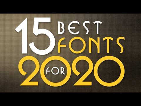 15 Best Useful Font For 2020 By As Graphics