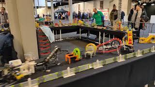 Short impression LEGO Great Ball Contraption GBC at Festijn met bouwstenen Rijswijk 2019