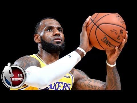 LeBron James ignites crowd in Los Angeles Lakers preseason debut vs Denver Nuggets | ESPN