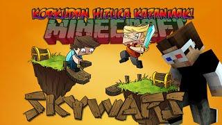 KORKUDAN HIZLICA KAZANMAK! - Minecraft Sky Wars! - Minecraft Gökyüzü Savaşları! w/ Ahmet Aga