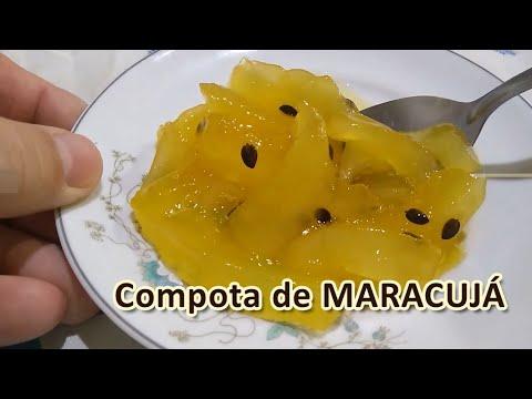 COMPOTA DE MARACUJÁ - Donnabela Confeitaria Artesanal