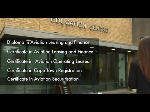 Diploma in Aviation Leasing & Finance - Autumn 2016