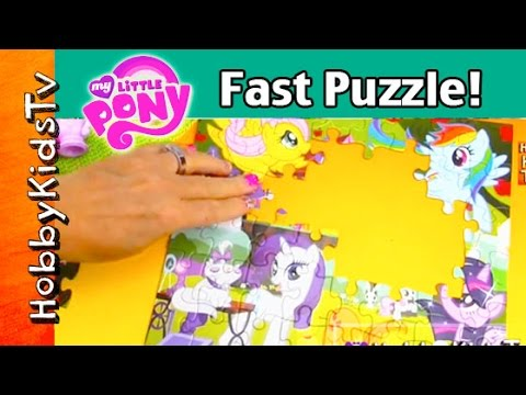 12a2b578d9 My Little Pony Puzzle Fast Motion! Sofia the First Garden Tea Party by  HobbyKidsTV Toys - YouTube