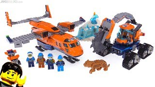 LEGO City Arctic Supply Plane review! 60196