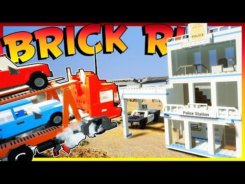 COPS AND ROBBERS! TONS OF SHENANIGANS & EXPLOSIONS! | Brick Rigs Multiplayer Gameplay & Challenges!