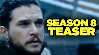 GAME OF THRONES Season 8 FIRST LOOK! HBO Countdown Trailer