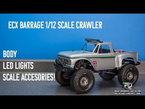 RC Car 1/16 2.4GHz 4WD RC Rock Crawler Off road Semi truck