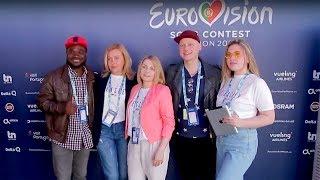 ALEKSEEV. Бэк-вокал. Eurovision 2018. Без комментариев 04.05.2018