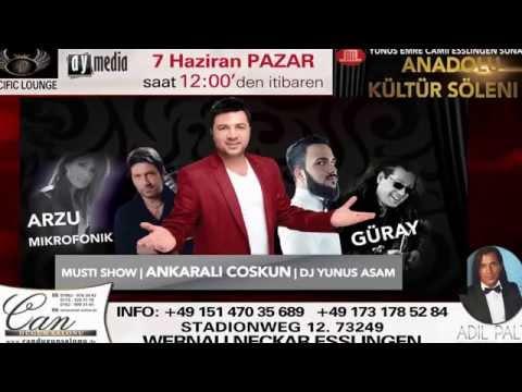 Anadolu kültür söleni2 ankarali Coskun ,Musti  show Stuttgart -Esslingen konseri