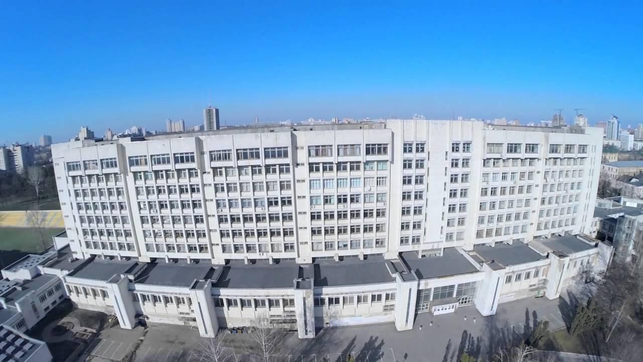 НТУУ Киевский Политехнический Институт с высоты полета