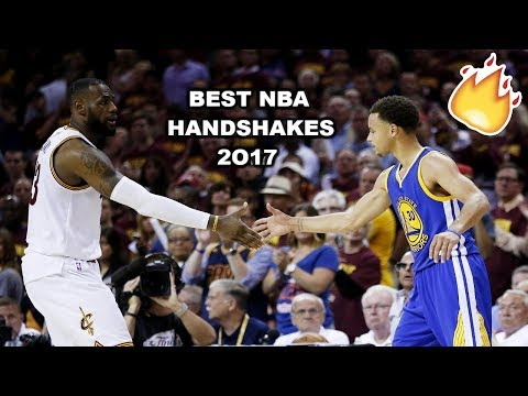 Best NBA Handshakes 2016/17 PART 2 ft. Cleveland Cavaliers, Steph Curry, Russell Westbrook...